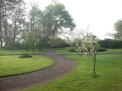 1800-talsträdgården